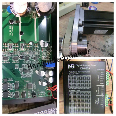 تعمیرات  STEPPER MOTOR & DIGITAL STEPPER DRIVE