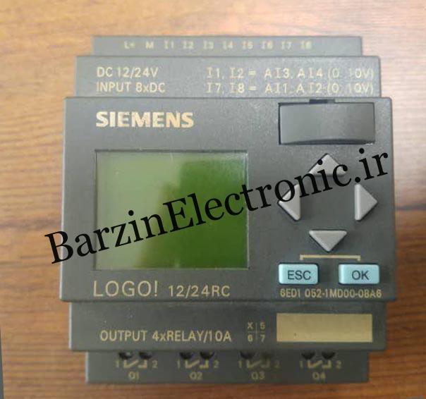تعمیرلوگو زیمنس SIEMENS PLC N117 CPU LOGO